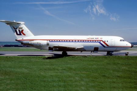 2.G AXMU BAC One Eleven 432FD Aberdeen June 1985