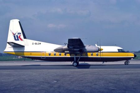 5.G BLGW Fokker F27 200 Southend 1980