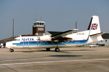 G BLGW Fokker F27-200 Southampton April 1998