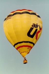 G BKRZ Dragon G77 Hot Air Balloon. Norfolk 1983