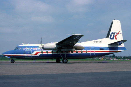 G BDDH Fokker F27 – 200 Southend May 1980