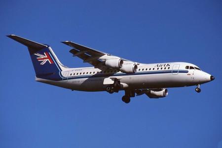G BSNR BAe 146-300 Glasgow May 1988