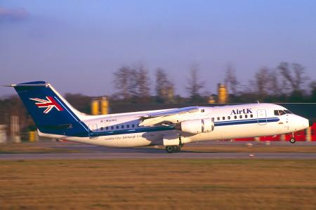 G BUHC BAe 146-300 Frankfurt 1996