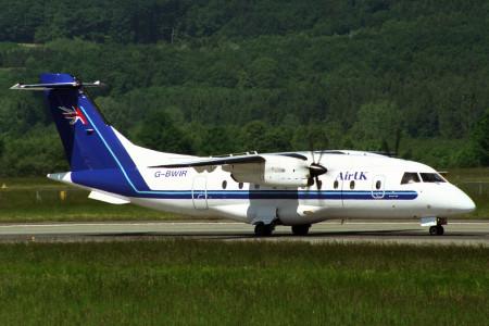 G BWIR Dornier 328. Zurich March 1997