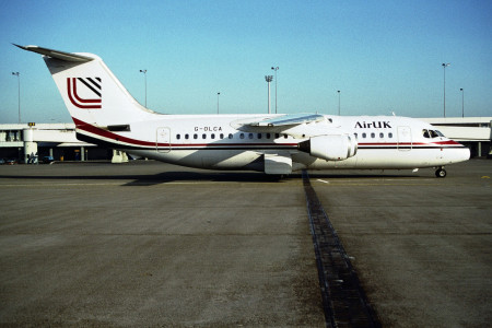 G OLCA BAe 146 - 200 Unknown Location 1992