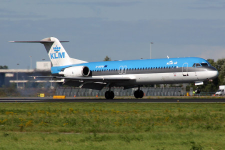 G UKFM Fokker F28 0100 Amsterdam September 2002