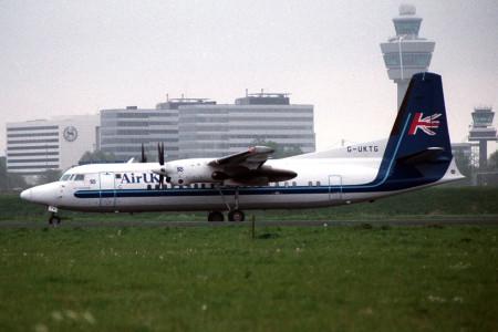 G UKTG Fokker 50 Amsterdam 1998