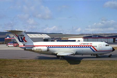 G AXOX BAC One Eleven 432FD. Aberdeen early 1980s