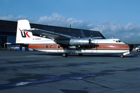 G ASBG Handley Page HPR.7 Herald 203. Unknown Location 1980