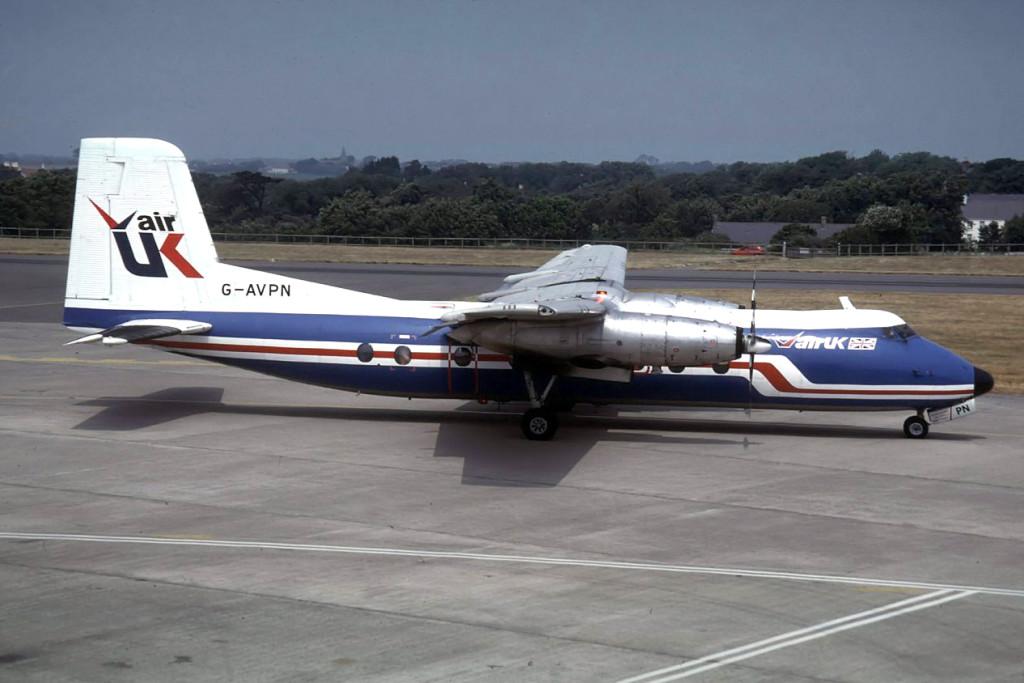 G AVPN Handley Page HPR7 Herald 213. Jersey Photo airline-airliners.de