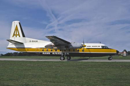G BAUR Fokker F27 – 200. Unknown location 1973
