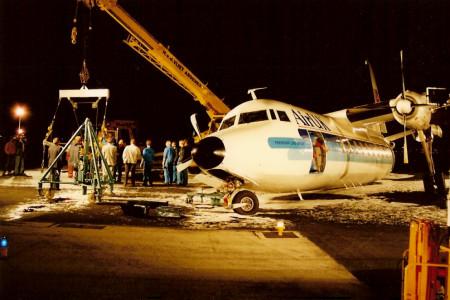 G BCDO Fokker F27 – 200. Amsterdam July 1990
