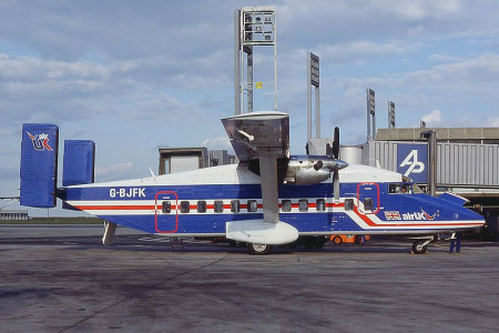 G BJFK Shorts SD3-30-100. Paris Charles de Gaulle July 1984