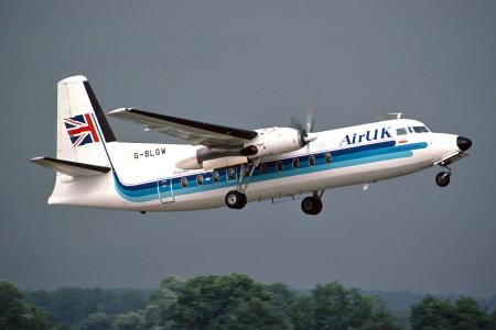 G BLGW Fokker F27 – 200. Southampton July 1992