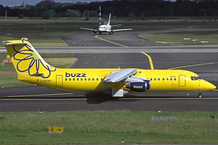G BTTP BAe 146 – 300. Dusseldorf May 2002