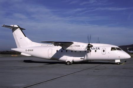 G BWIR Dornier 328. Zurich December 1996