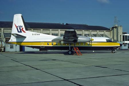 G STAN Fokker F27 – 200. Southampton October 1980