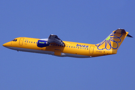 G UKID BAe 146 – 300. Dusseldorf July 2002