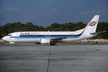 G UKLE Boeing 737 – 4Y0. Palma June 1995