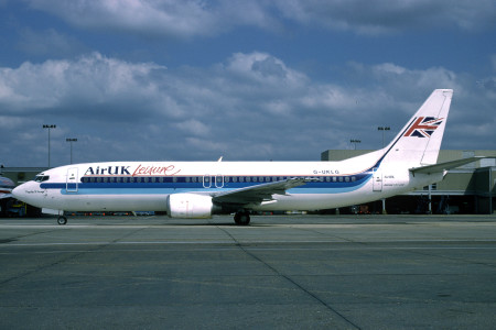 G UKLG Boeing 737 – 42C. London Gatwick May 1996