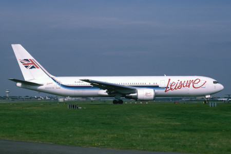 G UKLH Boeing 767 - 39H. London Gatwick May 1995