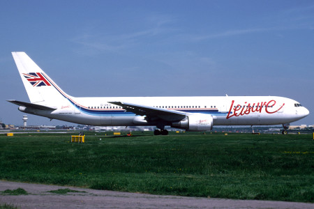 G UKLI Boeing 767 – 39H. London Gatwick May 1998