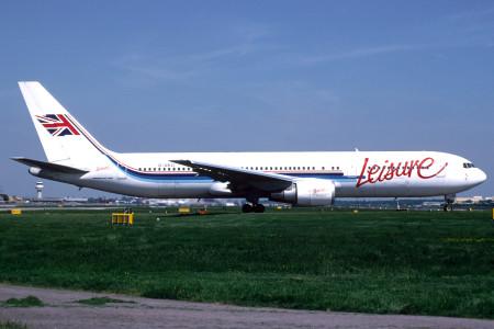 G UKLI Boeing 767 – 39H. London Gatwick May 1998