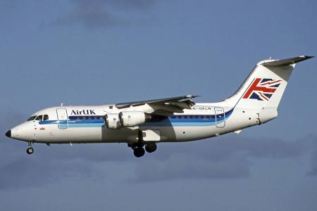G UKLN BAe 146 – 200. Glasgow 1993