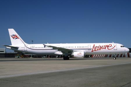 G UKLO Airbus  A321 – 211. London Gatwick June 1997
