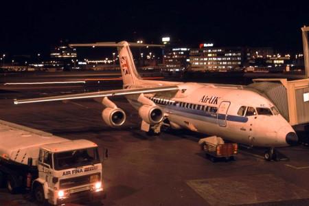 G UKSC BAe 146 – 300. Amsterdam 1993