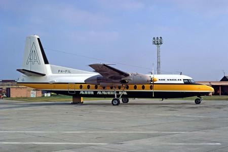 PH FIL Fokker F27 - 200. Unknown location 1972