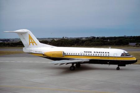 PH MOL Fokker F28 – 1000. Jersey 1979