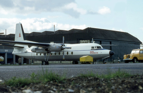 PH FPR Fokker F27 – 600. Norwich April 1971