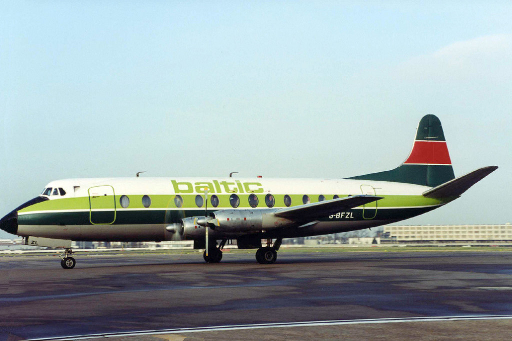 Shown in the colours of its former operator Manx Airlines, with Baltic titles who were only a short lived airline. AirUK chartered this aircraft over the Christmas and new year period 1988/9 to provide extra capacity on the GCI LHR route. we have confirmation from one of our picture contributors Howard Chaloner who flew on the UK 380 GCI to LHR on 02 January 1989. Photo Dave Richardson.