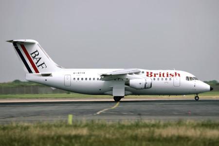 G BTIA BAe 146 – 200QC. London Heathrow July 1992