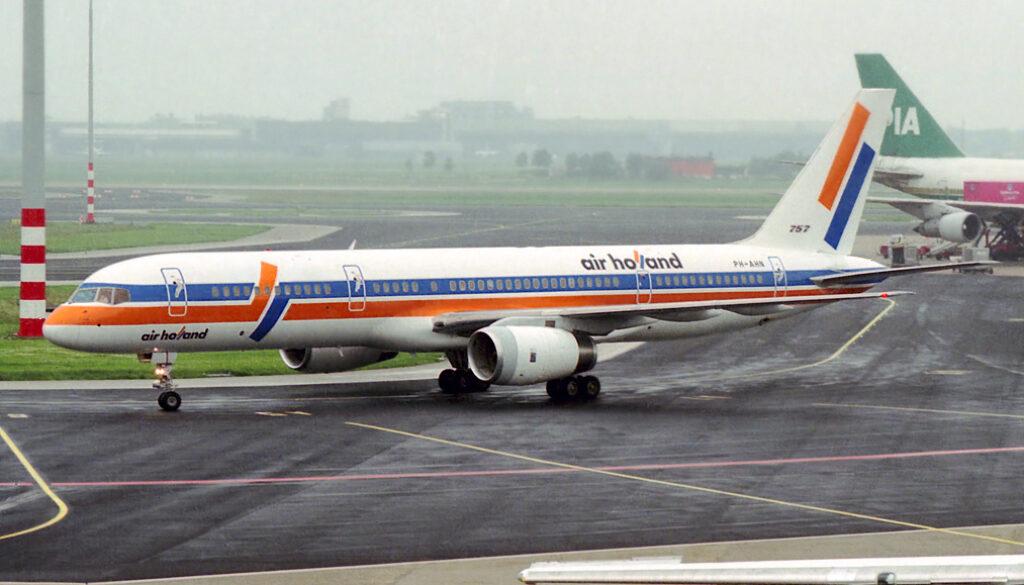 PH AHN Boeing 757 – 236. Amsterdam June 1991