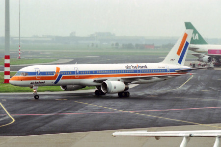 PH AHN Boeing 757 – 236. Amsterdam June 1991