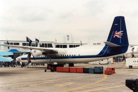PH MXI Fokker 50 Paris Le Bourget June 1995